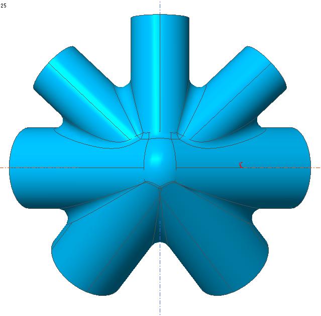 钢结构工程铸钢节点有限元分析计算书  铸钢件 钢结构铸钢件 铸钢件安装 铸钢件设计 第2张